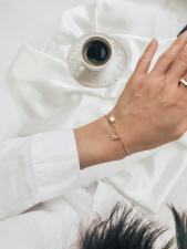 браслеты бижутерия с подвесками буквами оптом