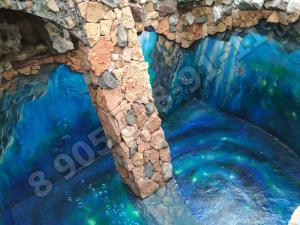 Резиновая краска для бассейна Адгезика , сверпрочная краска