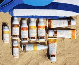 Натуральная органическая пляжная косметика