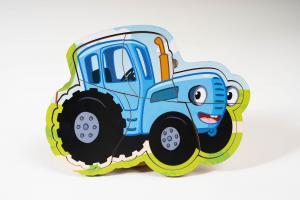 "Пазлы ""Синий трактор"""