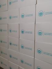 Упаковка в коробках по 2000 штук